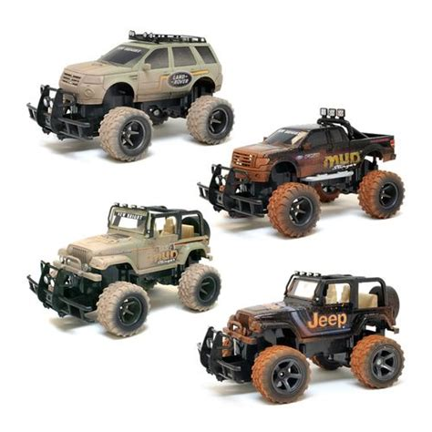 New Bright Rc Jeep Academy New Bright Mud Slinger Ford F 150 And Jeep