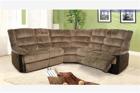Leather And Cloth Sectional Sofas F Coffee Fabric Leather Dual Reclining Sectional Sofa Recliner Corner Contemporary Sectional