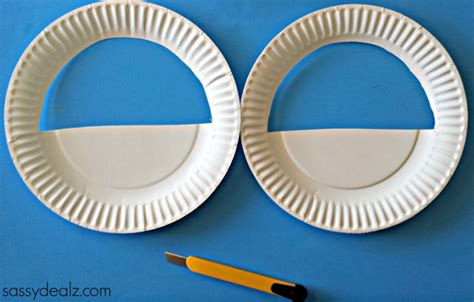 Crafts Out Of Paper Plates - 3d paper plate easter basket craft for crafty morning