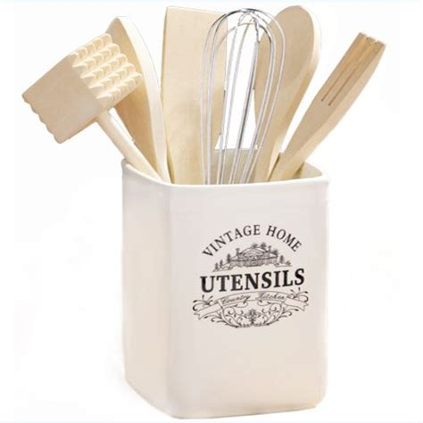 Kitchen Craft Classic Collection Utensil Jar Vintage Home Ceramic Utensil Jar Click Here To