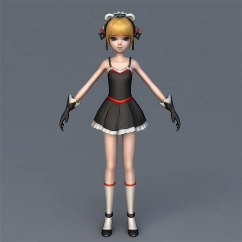 Anime 3d Model