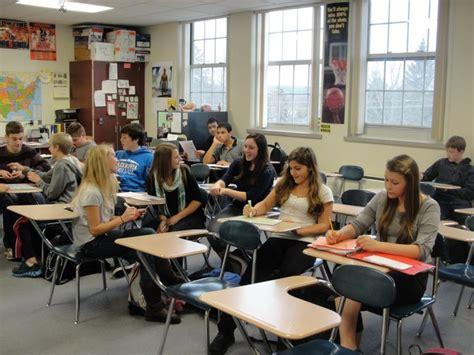 york high school classroom cazenovia high school seeks accreditation eagle news