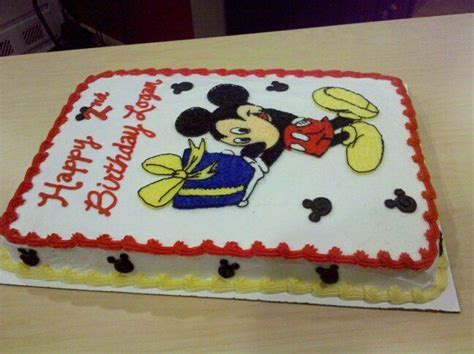 Mickey Mouse sheet cake   mickey mouse party in 2019