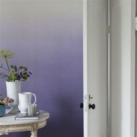 Charmant Decoration Murale Salon Moderne #2: décoration-murale-salon-papier-peint-dégradé-nuances-lilas.jpg