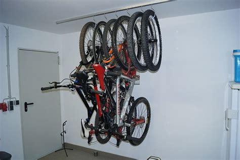 fahrrad platzsparend aufhängen wandhalter frage mtb news de