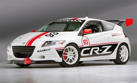 honda racing honda to demo its 200 hp turbocharged cr z hybrid racer