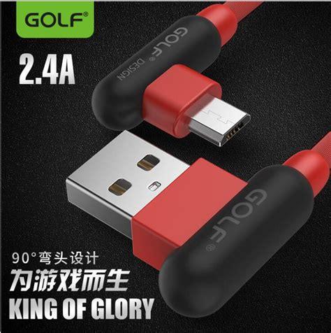 Dijamin Golf Kabel Data Charger Micro Usb golf kabel charger l shape micro usb gc 45 white jakartanotebook