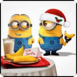 imagenes minions divertidas en navidad