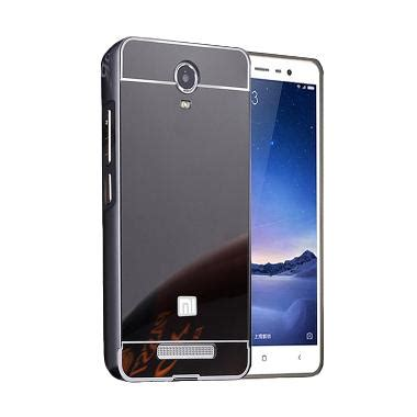Hp Xiaomi Redmi Note 2 Hitam jual alumunium metal sliding bumper mirror hardcase casing for xiaomi redmi note 2 hitam