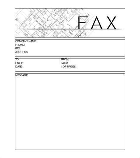 email cover sheet template fax cover sheet free premium templates