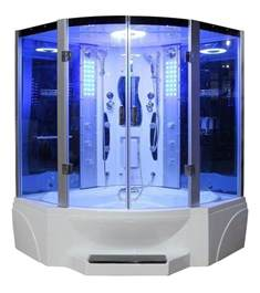 eagle bath steam shower and wirlpool bathtub combo unit