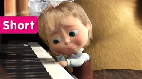 tutorial piano masha and the bear masha and the bear the grand piano lesson let s have