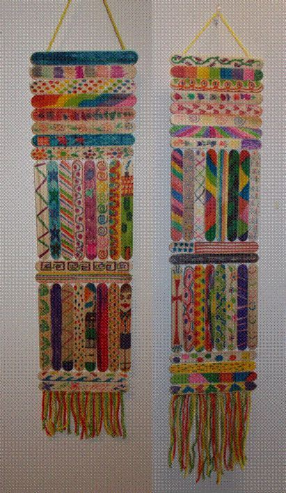 Handmade Wall Hanging Ideas - the 25 best tongue depressor crafts ideas on