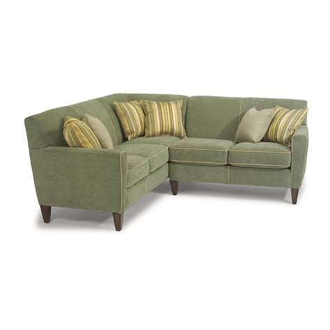 digby sofa flexsteel 5966 sect digby fabric sectional discount