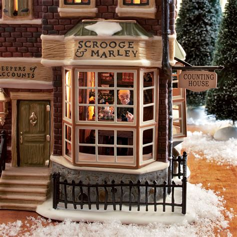counting house department 56 58483 scrooge marley s counting house