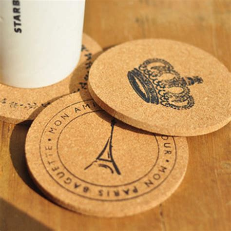 Coffee Cup Mat Coasters get cheap wooden drink coasters aliexpress