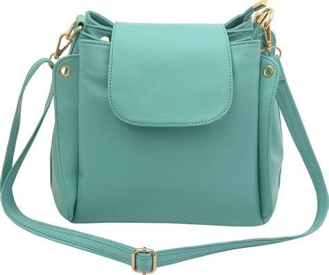 Sling Bag Ori Imagine deniza green pu sling bag green price in india