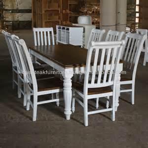 Painted Dining Room Set mesa de jantar antigo conjunto pintado de branco m 243 veis proven 231 al