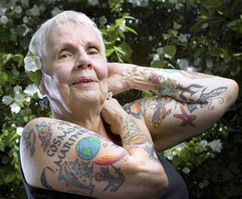 tattooed seniors response     youre older