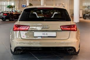 Audi Rs6 Colors This Mocha Latte Audi Rs6 Exclusive Is Both And