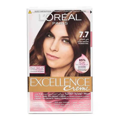 Remove Hair Dye From Leather Sofa L Oreal Excellence Cr 232 Me Hair Color 7 7 Honey Brown Price Review And Buy In Dubai Abu Dhabi