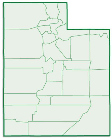 utah county map utah county map