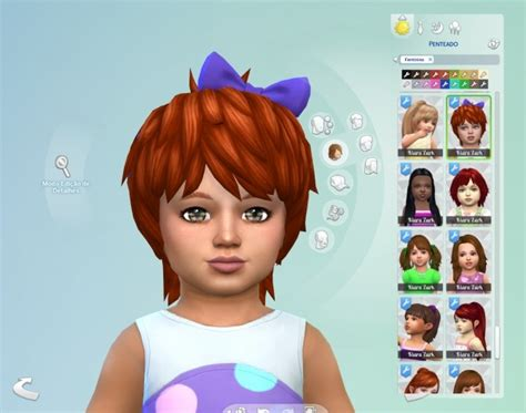 flowers bow headband at jenni sims 187 sims 4 updates sims 4 content hair bow shaggy bow hair for toddlers at my