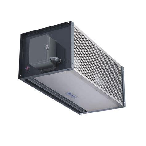 heated air curtain heated industrial direct drive 14 idc14 series air curtains
