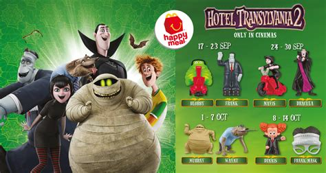 Smurf Figures Hypermart mcdonald s happy meal hotel transylvania 2 free toys and