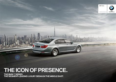 bmw advertisement advertising of beautiful bmw car