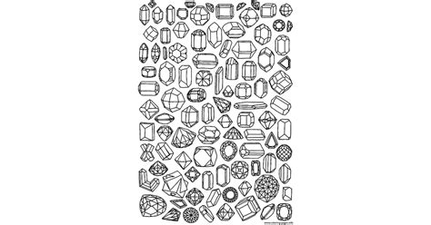 coloring page jewels  coloring pages