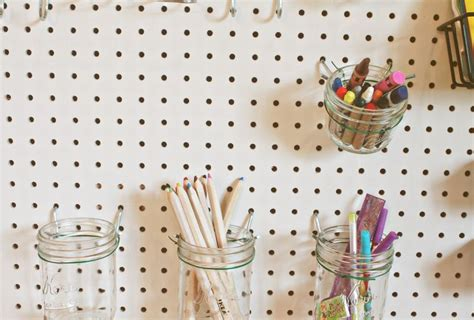 Mason Jar pegboard   To Make   Pinterest   Kids s, Jar and