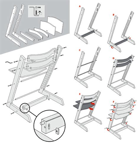 stokke tripp trapp high chair assembly tripp trapp back in