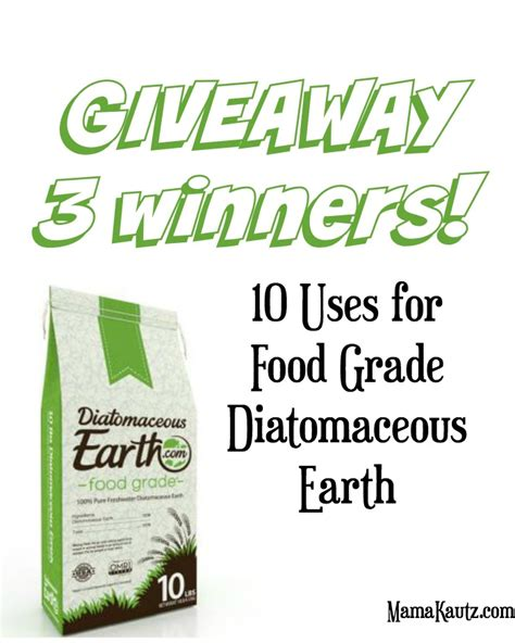 10 uses for diatomaceous earth kautz