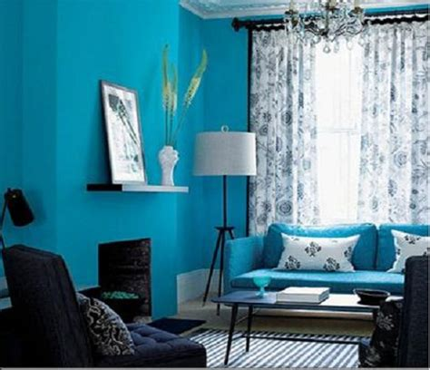 blue paint living room living rooms painted blue modern house