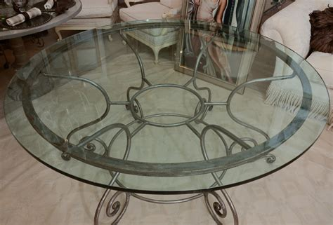 wrought iron glass top kitchen table wrought iron kitchen table ideas homesfeed