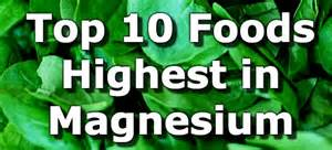 Top 10 foods highest in magnesium you can t miss