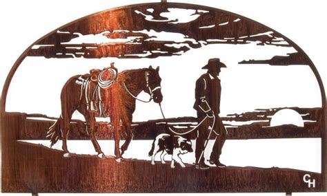 end of trail home decor days end western metal wall 20 quot rustic artwork
