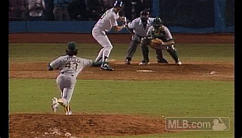 throwback postseason photo of the day kirk gibson hits