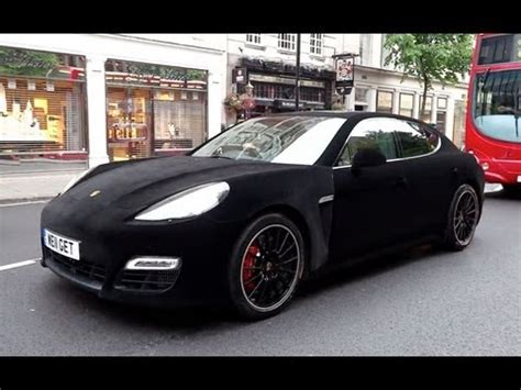 porsche velvet velvet wrapped porsche panamera turbo in london youtube