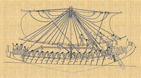 dessin bateau egyptien de quelques navigations des 201 gyptiens