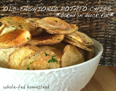 Blueduck Potato Chips fashioned duck baked potato chips whole fed homestead