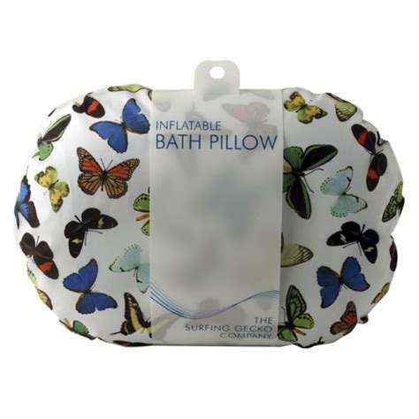 mojolondon butterfly bath pillow