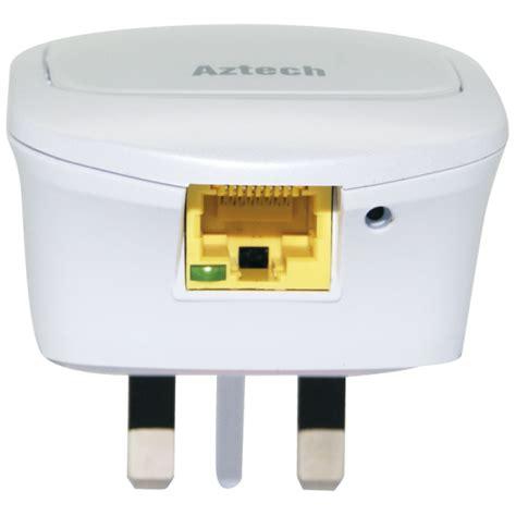 Wi Fi Reapeater Aztech Wl559e aztech wall plugged 300mbps wi fi repeater