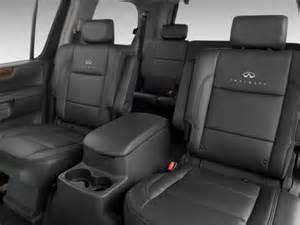 2010 infiniti qx56 rear seats interior photo automotive