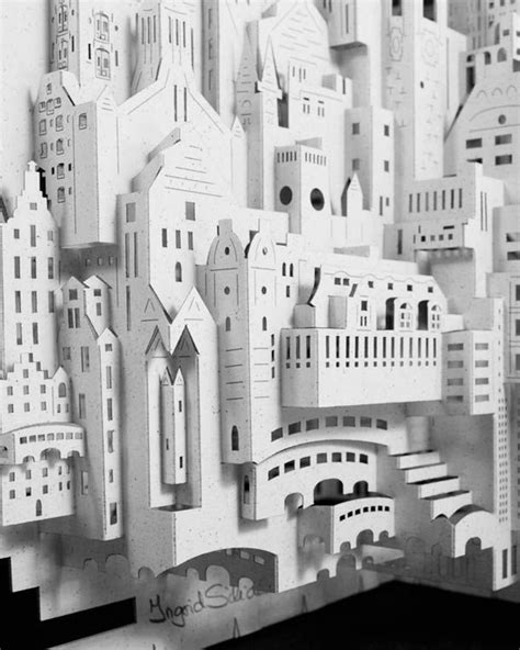 paper architect the paper creations of ingrid siliakus