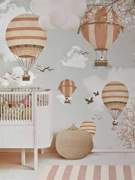 wandgestaltung tapete babyzimmer herrliche fantasievolle wandgestaltung tapete