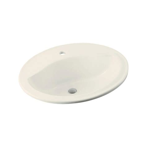 sterling bathroom sinks sterling sanibel drop in vitreous china bathroom sink in