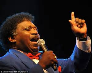 singer who just passed away percy sledge dies aged 73 daily mail online