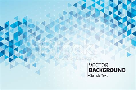 Blue Triangle Pattern Vector Background | blue triangle pattern vector background stock vector